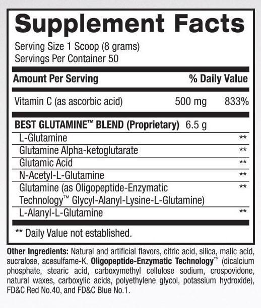 BPI Best Glutamine-nf