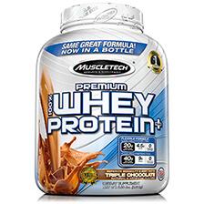 MUSCLETECH – Premium 100% Whey Protein Plus