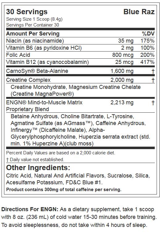 EVL NUTRITION ENGN-NF