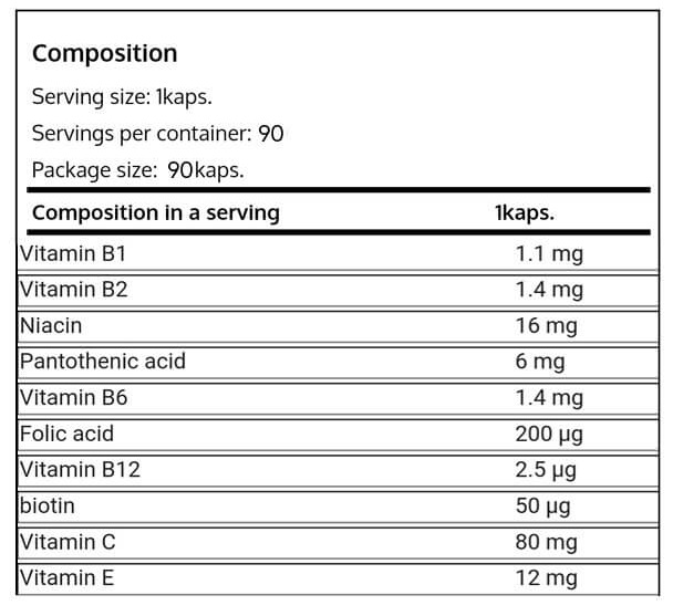 Real Pharm-VITAMIN B COMPLEX--NF