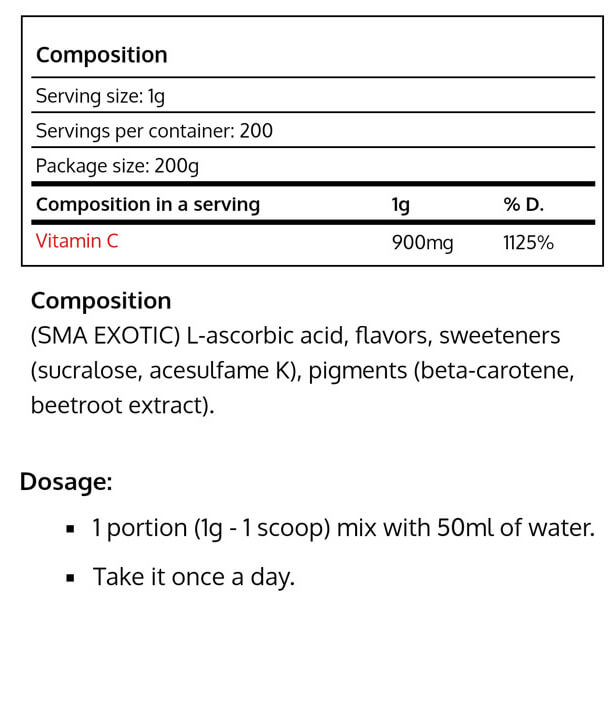 Real Pharm-Vitamin C POWDER-NF